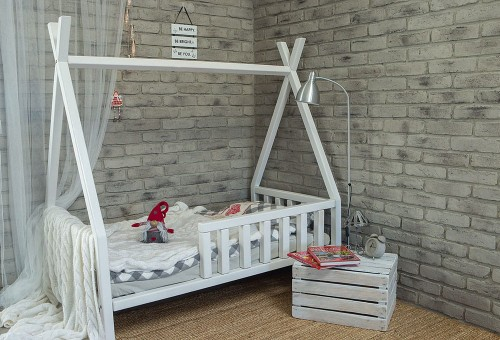 łóżko Domek Tipi 140x80 Cm Studio Malucha łóżka Dziecięce I Meble