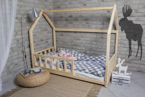 łóżko Domek Ze Zdejmowanymi Barierkami 160x80 Cm Studio Malucha